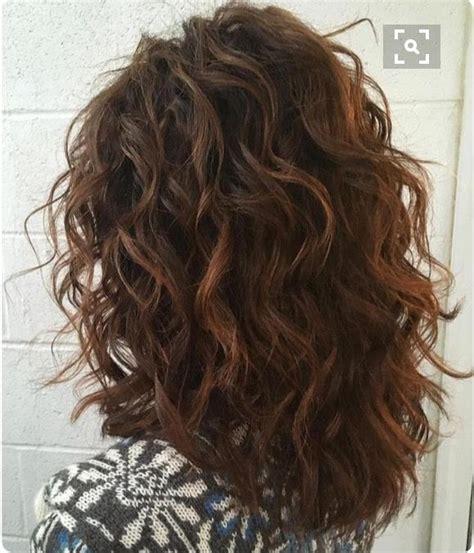 permed medium length hairstyles best 25 permed medium hair ideas on pinterest permed