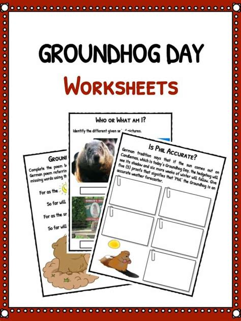 groundhog day viewing worksheet answers and season worksheets for kidskonnect