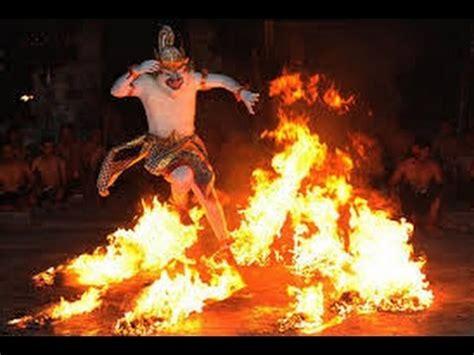 kecak dance fire dance uluwatu bali youtube