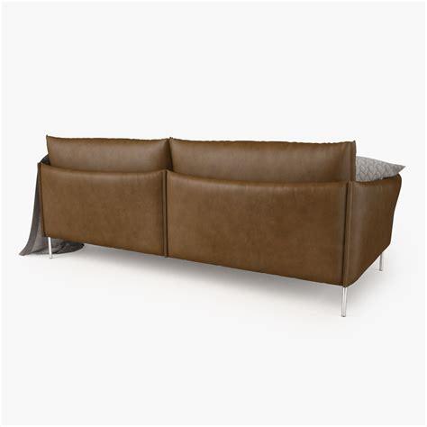 gentry sofa moroso moroso gentry 2 seater sofa 3d model max obj fbx mtl