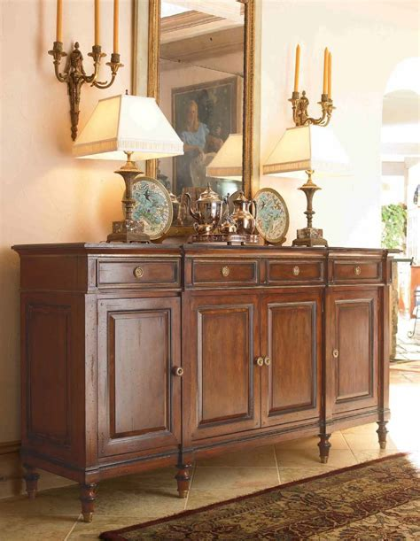 buffet credenza sideboard credenza hickory white luxury furniture mr