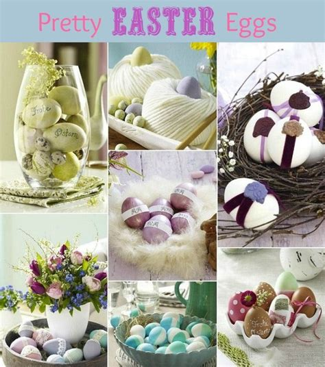 pretty easter eggs decorated easter eggs 7 creative ideas celebrations at