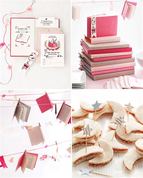 baby shower book theme book themed bridal shower inspiration aisle