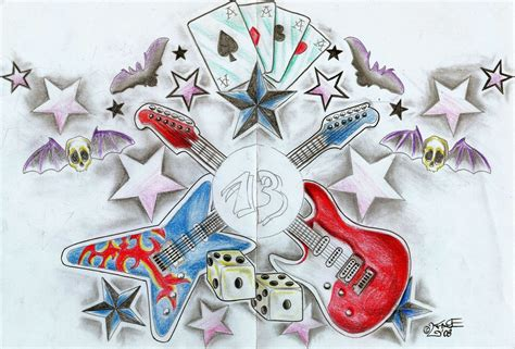 tattoo designs new school new school design by 2face on deviantart