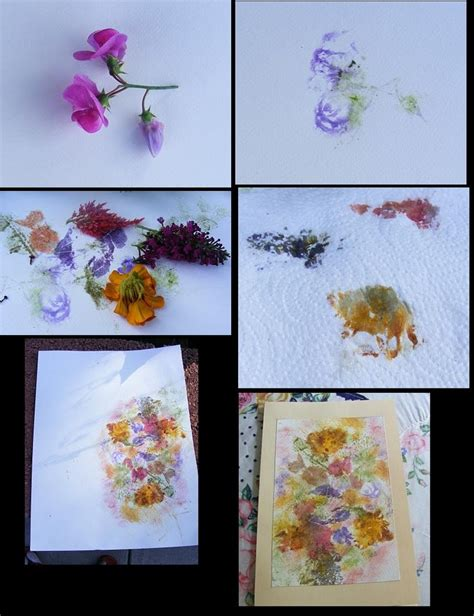 Make Your Own Watercolor Paper - hammered leaf prints low onvacations wallpaper image
