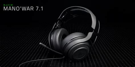 Razer O War 7 1 Green Surround Gaming razer mano war 7 1 wired gaming headset razer insider forum