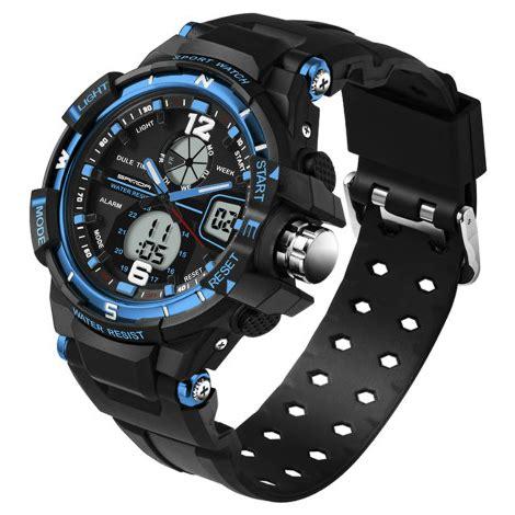 Jam Tangan Premium Sanda Sporty Pria Sd 289 1 sanda jam tangan sporty pria sd 289 black blue jakartanotebook