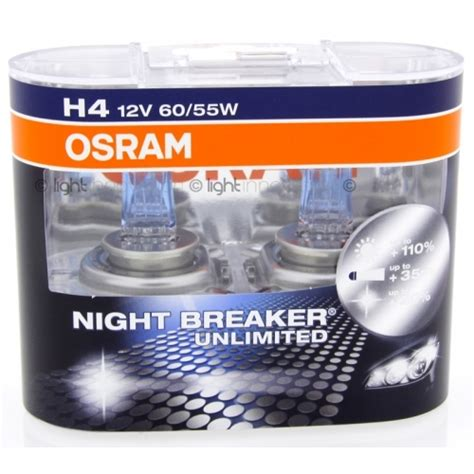 Lu Mobil Osram Breaker Motomobil Gmbh Gt Products Gt Bulb 12v H4 60 55w Osram