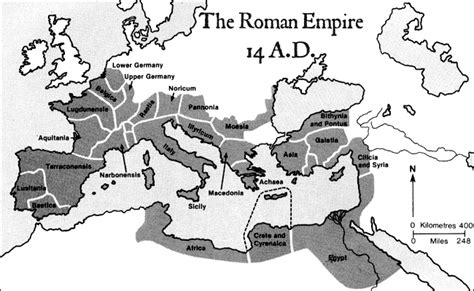 census of augustus caesar bible archaeology and roman map of the roman empire in 14 ad bible history online