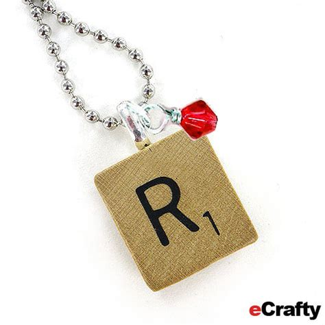 Chip Chop Scrabble Necklace by Diy Scrabble Tile Pendant Tutorial Easy To Personalize