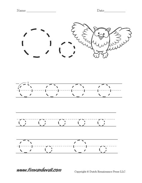 worksheets for the letter o preschool them and