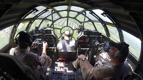 B-29 Superfortress in flight - from the cockpit - YouTube B 29 Inside