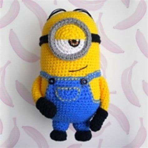 free pattern amigurumi minion minion crochet patterns and crochet on pinterest