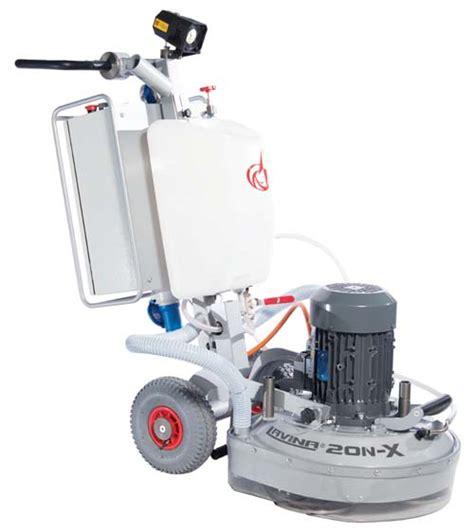 Lavina 20, a 20 inch lightweight floor grinder