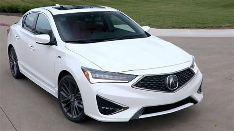 2019 acura ilx a spec platinum white pearl driving