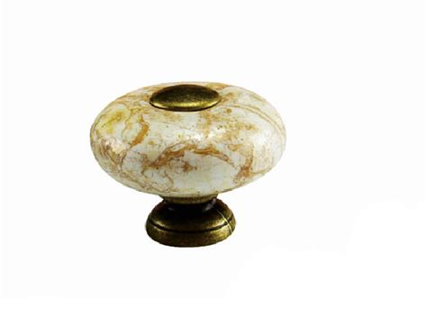 Decorative Knobs For Cabinets by Aliexpress Buy 2pcs 26mm Marble Ceramic Knobs