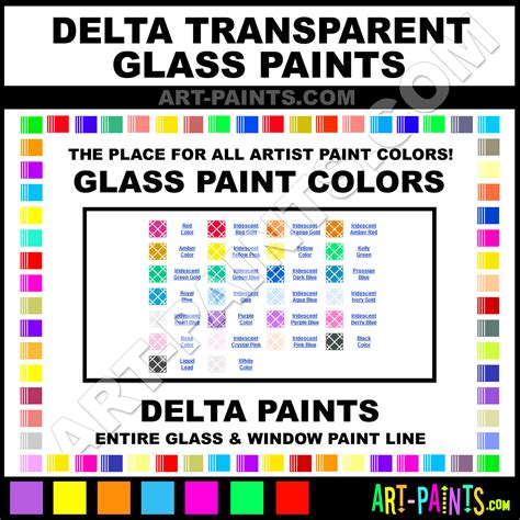 transparent stained glass window paints 4900 paint color delta
