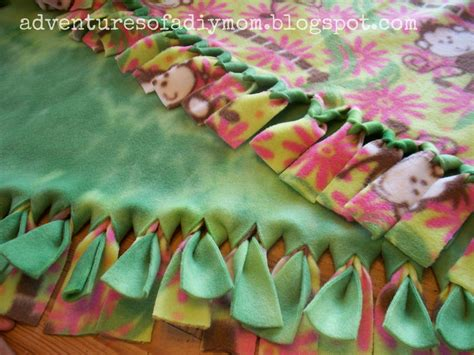 How To Make Handmade Blankets - handmade fleece blankets by s chest