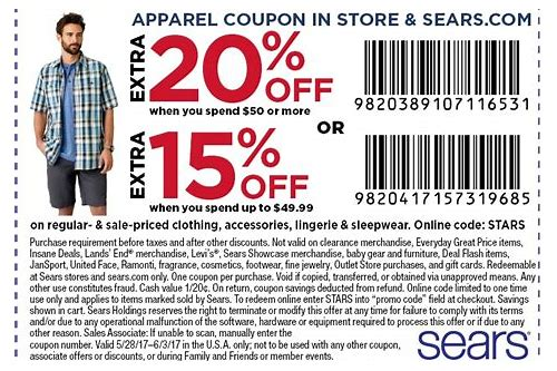 sears canada appliance coupons