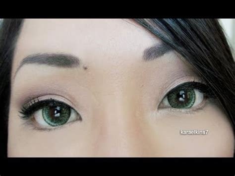 geo nudy circle lenses green, brown, golden blue, violet