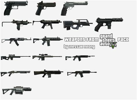 gta 5 all weapons gta 4 weapon packs mods and downloads gtainside com