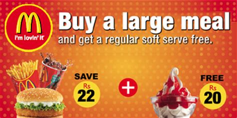 McDonalds Discounts, Deals, sales, offers, promotions, Pune