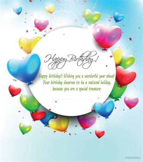 Design Birthday Card 50 Beautiful Happy Birthday Greetings Card Design Exles
