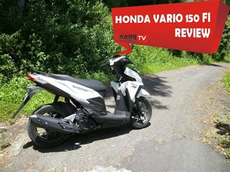 review honda vario 150 by karstv remcakram