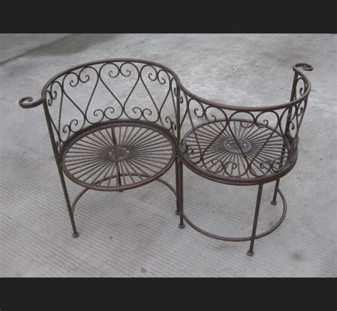 Banc En Fer Forge Pour Jardin by Decoration Jardin Fer Forge Nimes Maison Design Trivid Us