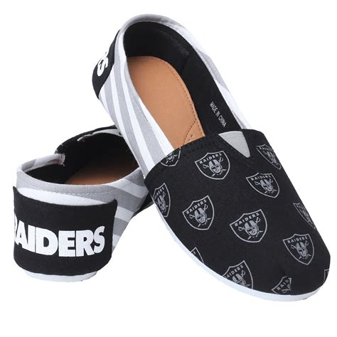 nfl shoes for fans nfl s oakland raiders casual shoe