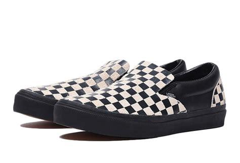 n hoolywood x vans slip on sneakers japan goods finder