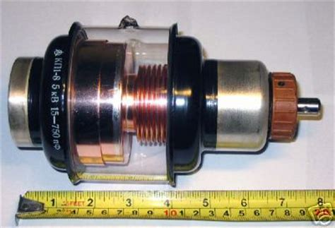 15 kv capacitor vacuum variable capacitor 15 750 pf 5 kv nos