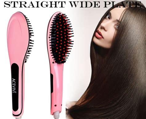 insta magic straightening brush reviews brush that straightens your hair hair brush straighteners