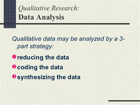 pattern analysis in qualitative research qualitative research mkep