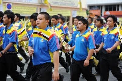 sejarah hari kebangsaan negara brunei darussalam rumpunsuara raptai perbarisan hari kebangsaan warnai