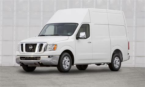 nissan utility 2012 nissan nv 2500 high roof v6 utility review by