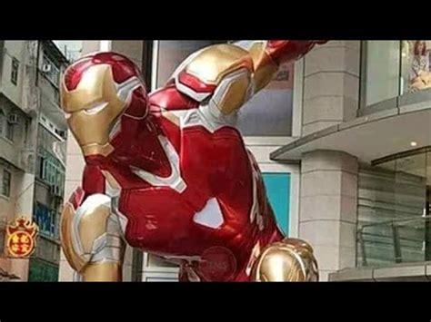 nuevo armadura cosplay iron man mark youtube