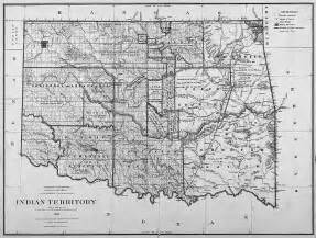 indian territory map maps of indian territory the dawes act and will rogers
