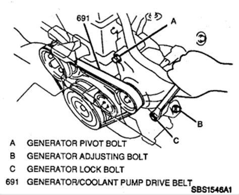 service manual [1996 geo prizm remove belt] ᴴᴰcorolla
