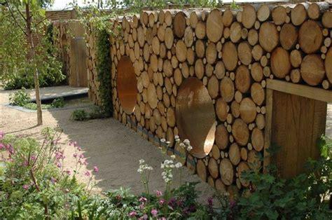 Backyard Garden by 15 Wooden Fence Ideas Woodz