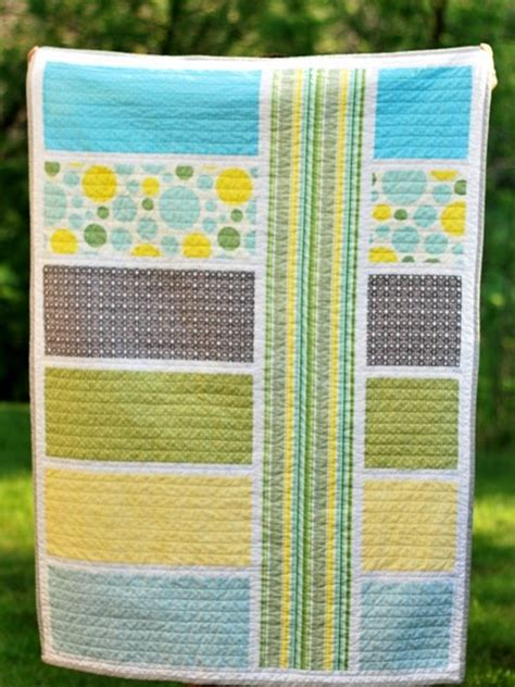 Designs For Baby Quilts by Bijou Lovely Lovely Designs Modern Baby Quilt