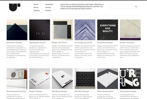 grid layout for portfolio free wordpress portfolio themes for photographers