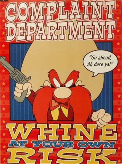 Yosemite Sam Meme - annual shaving edition the view from fish in a barrel pond