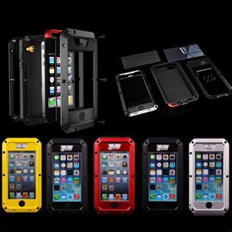 Hardcase Armor Metal Aluminum Luxury Cover Casing Iphone 6 Plus 55 luxury dirt proof shockproof waterproof for iphone 5