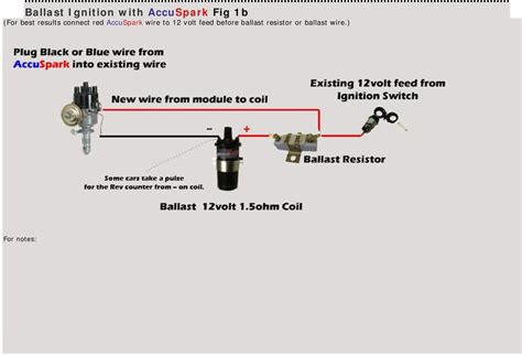 ballast resistor vs resistor wire accuspark fitting guide fitting and wiring diagrams pdf