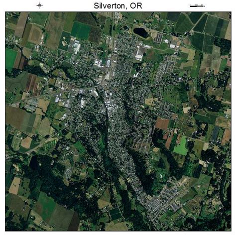 map of silverton oregon aerial photography map of silverton or oregon