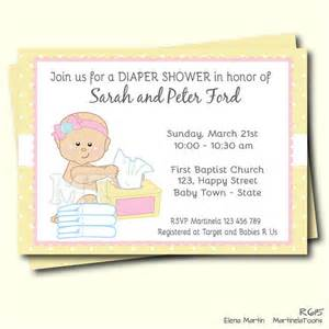 diapers and wipes baby shower diapers and wipes baby shower invitation pink and yellow