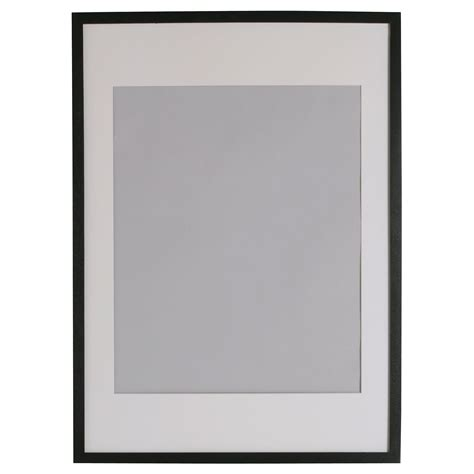 cornici per poster ribba frame black 61x91 cm ikea