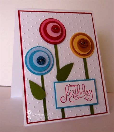 card punches punch lollipop flowers by flowerbugnd1 at