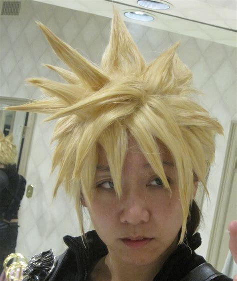 Rambut Kostum Wig Cloud Strife cloud strife wig commission by ludustonalis on deviantart